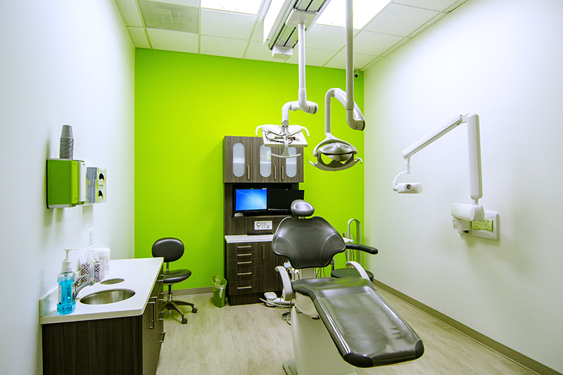 costa family and cosmetic dentistry examination room