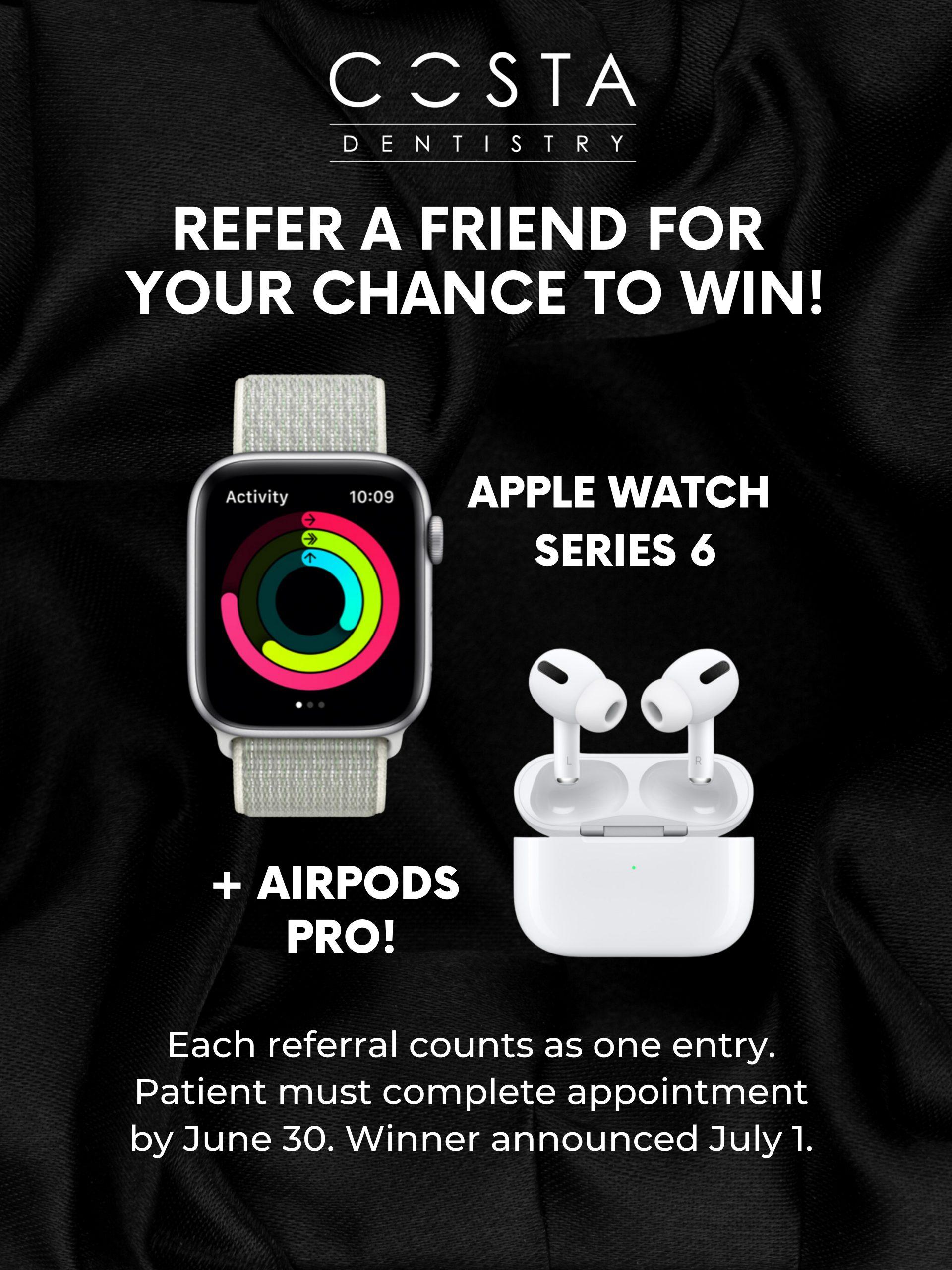 Refer a Friend Prize